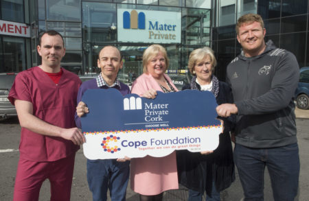 HEALTH: Mater Private Cork Hospital selects Cope Foundation as Charity Partner for 2018