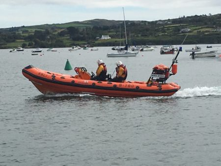 Baltimore RNLI assists two vessels aground in West Cork