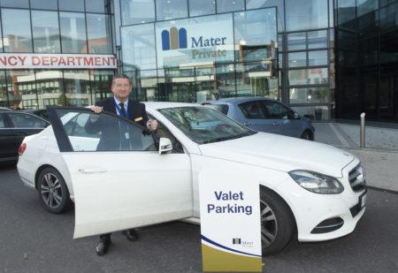 Irish Hospital introduces valet parking – Mater Private Cork