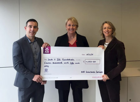 AIB Donate €11,050 to The Jack and Jill Children's Foundation