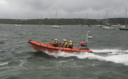 Baltimore RNLI provides assistance to a yacht in difficulty