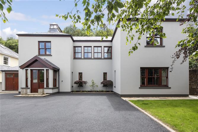 Designing your garden will be a dream in this €1.5m architect designed house