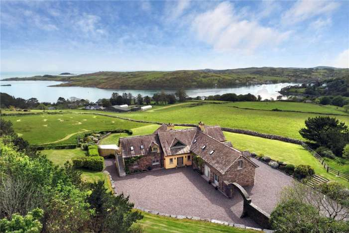 WEST CORK: €1.35m Glandore house includes Tennis & Basketball courts, Stables, and a boat house