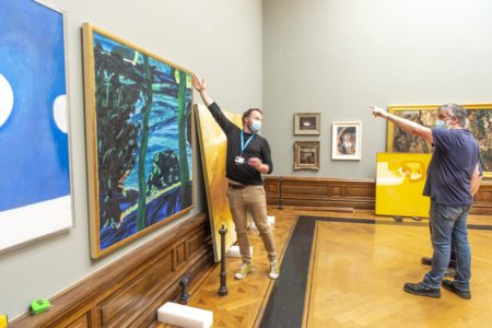 LIFE AFTER COVID19: Final preparations as Crawford Art Gallery reopens to the public