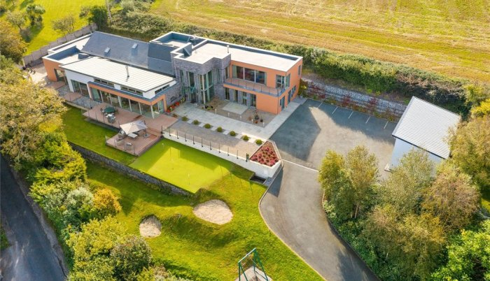 """PROPERTY FOR SALE: €1.75 million modern mansion with pool and zip line – """"Ngong"""", Kilnagleary, Carrigaline, Co Cork"""