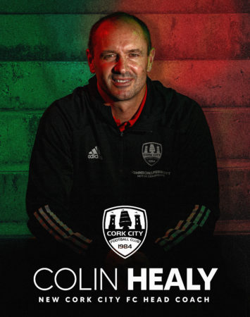 SOCCER: Colin Healy appointed Cork City FC Head Coach