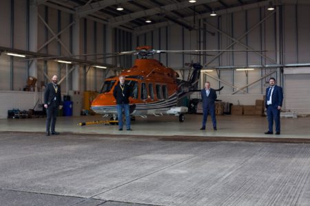 Helicopter for decommissioning of Gas Rig to be based at Cork Airport