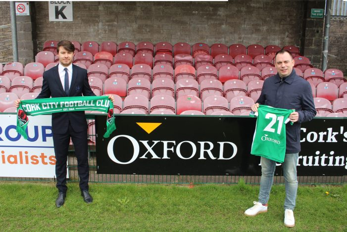 SOCCER: New sponsor for Cork City FC