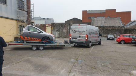 Cork trainee mechanics get access to electric / hybrid car to learn on