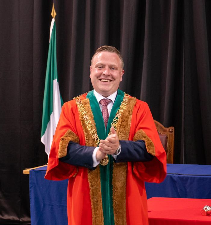 Cork City Council elects Ballincollig-based Cllr Colm Kelleher as 2021-2022 Lord Mayor of Cork
