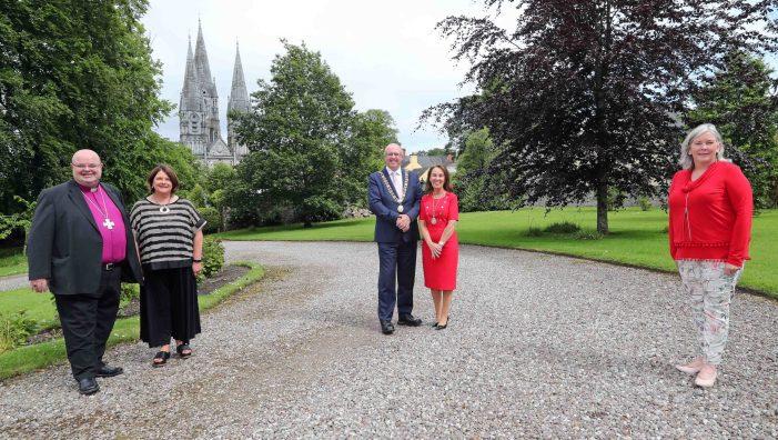 Lord Mayor makes courtesy visit to Bishop's Palace
