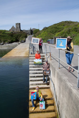 THINGS TO DO IN WEST CORK: Art Exhibitions on Skerkin Island (you have to get a boat there!)