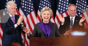 Hillary Clinton attempts to explain an inexcusable defeat