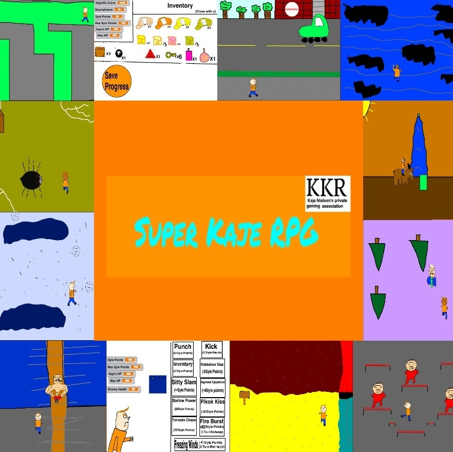 Super Kaje RPG computer game - Corner Station Deli & Co-op