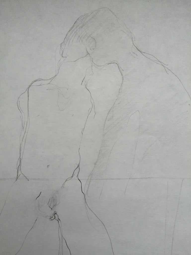 lovers kissing