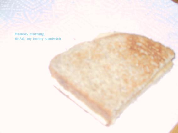 honey sandwich