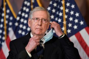 McConnell's latest COVID-19 relief bill shows he wants to make it hard for people to vote