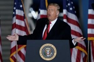 Trump tells Wisconsin voters Biden will 'absolutely eradicate' state's economy