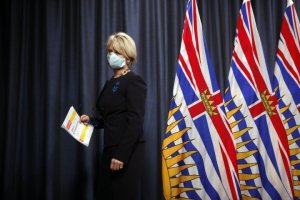 B.C. health officials to provide COVID-19 update following throne speech