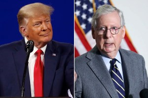 Trump blasts Sen. Mitch McConnell at Mar-a-Lago dinner: report