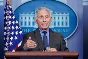 Fauci: Time to be 'more liberal' on masks as vaccinations increase