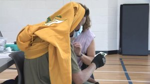 School-based COVID-19 vaccine delivery starts in Saskatchewan