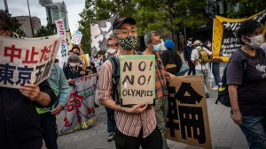 Opposition To Olympics In Japan Becomes More Organized, Vehement
