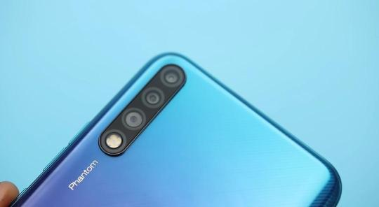 Phantom 9 triple camera lens
