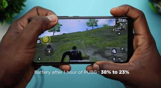 Infinix Hot 8 battery life
