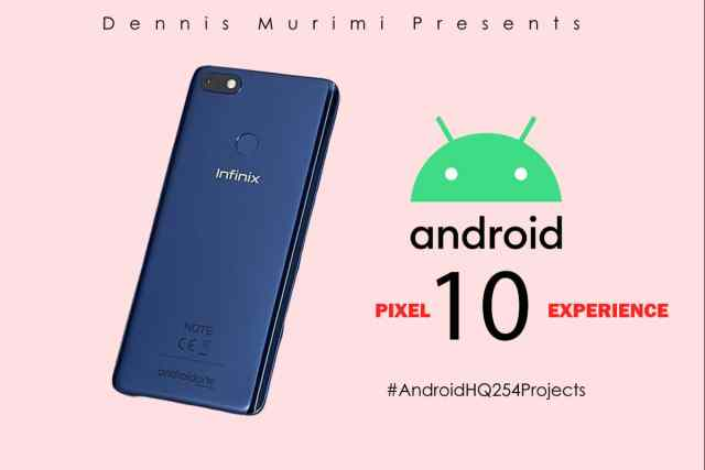 Infinix Note 5 android 10 update and features