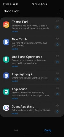 Samsung Galaxy S20, S20 FE and S21 notification LED