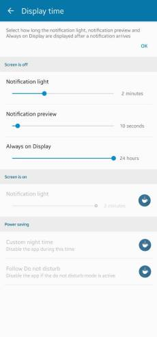Samsung Galaxy A71 & A72 notification LED