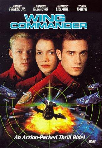 This is the movie poster for Wing Commander.