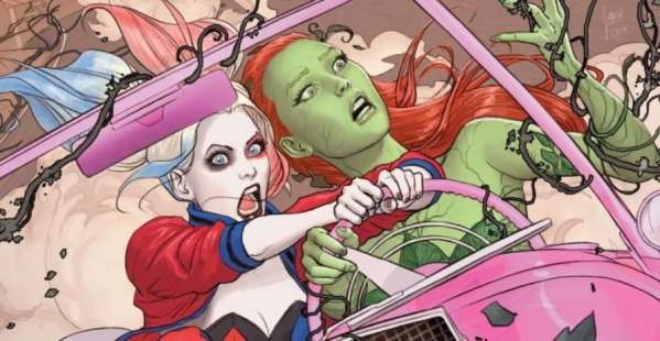 Pitch: Robbie's Harley Quinn meets her Poison Ivy