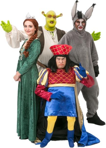 Shrek Dragon Donkey Love And All Fiona