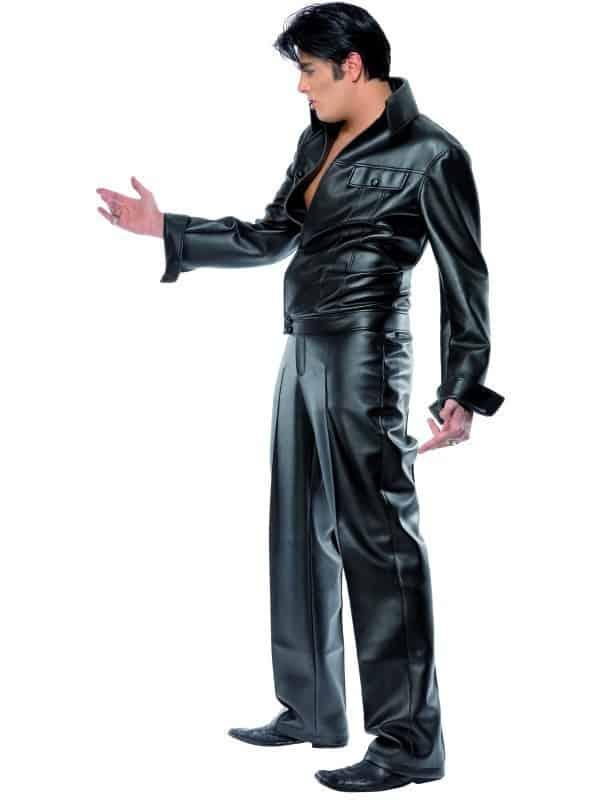 Deluxe Elvis Costume Black