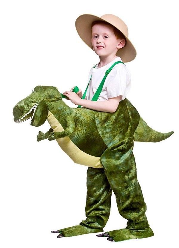 Ride On Dinosaur Kids Costume