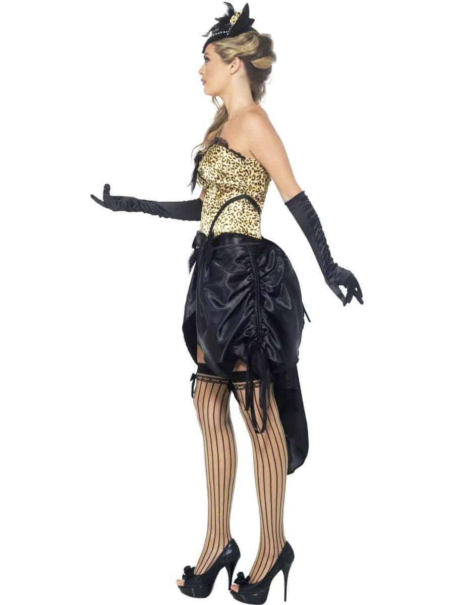 Ladies Burlesque Kitty Costume