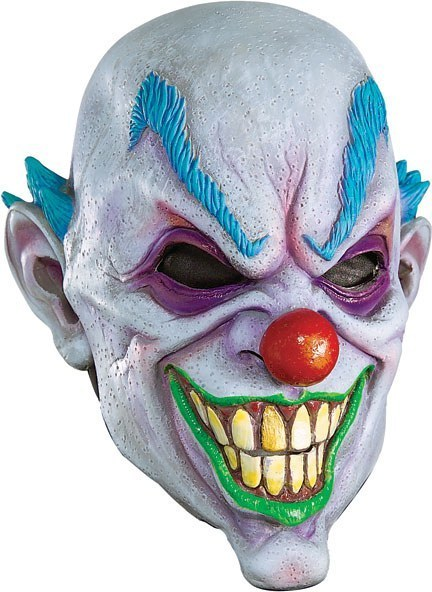 Evil Creepy Clown Mask