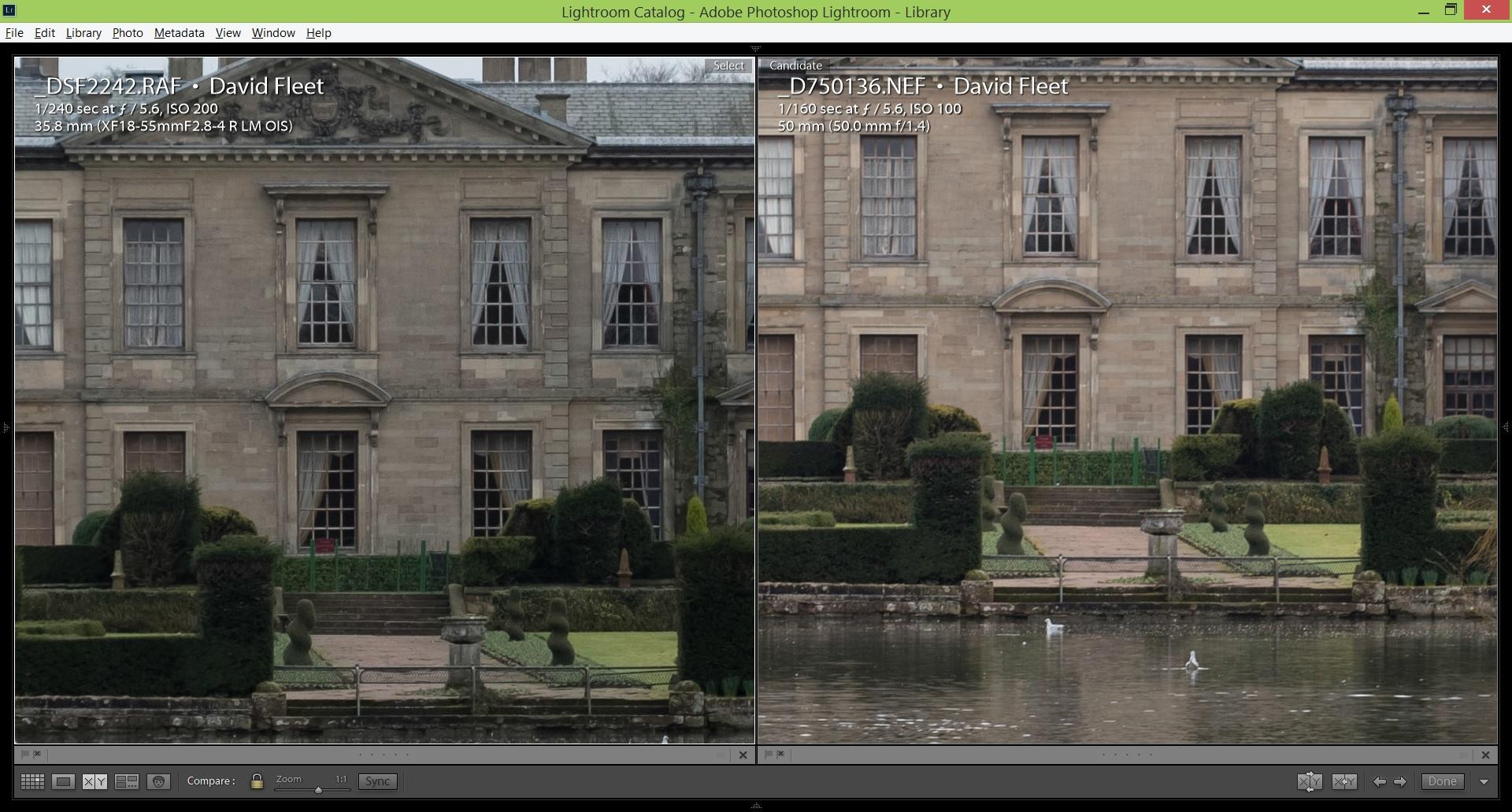 Fuji XT2 vs Nikon D750 - The Cotswold Photographer