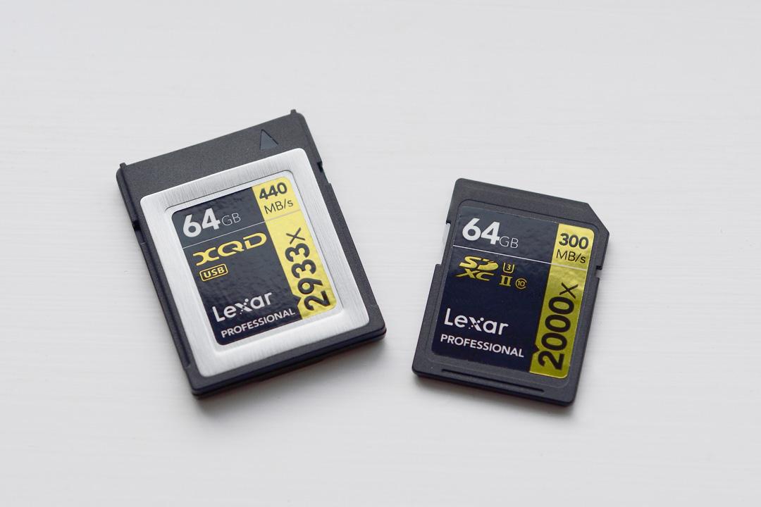 nikon d850 review memory cards