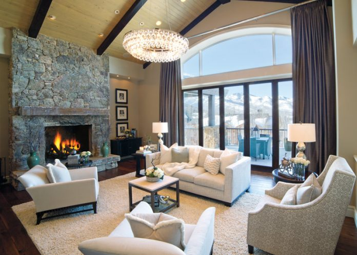A Slope worthy Affair  Park City Cottage Combines Elegance and Cabin     Park City Cottage