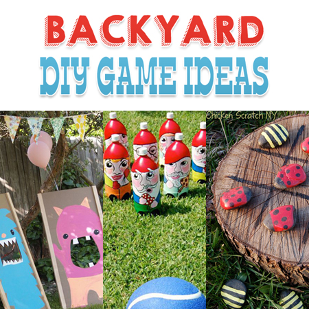Backyard DIY Game Ideas
