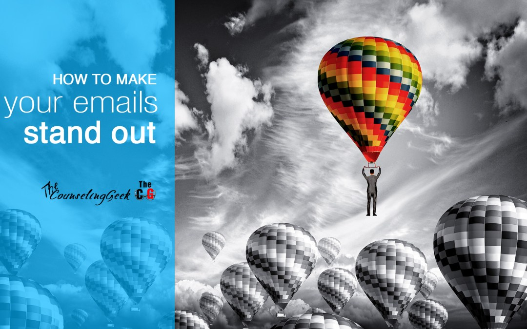Stand Out From The Crowd: One Simple Tool To Give Your Emails Pizzazz