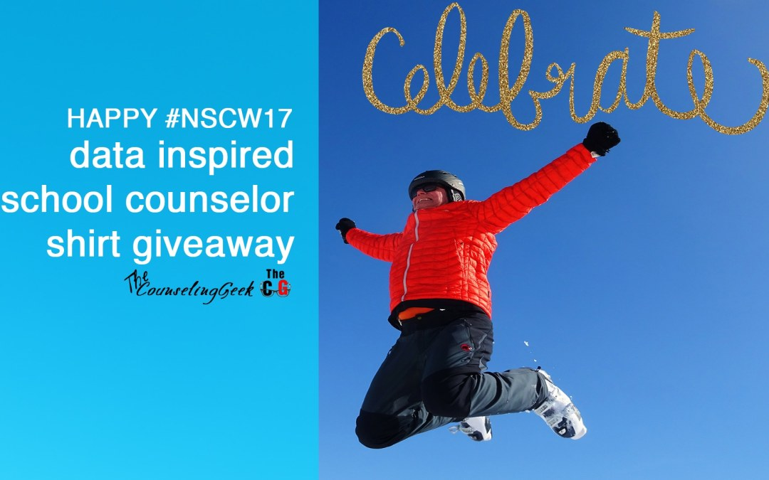 #NSCW17 Data Inspired School Counselor Giveaway