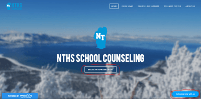 The NTHS Counseling Website