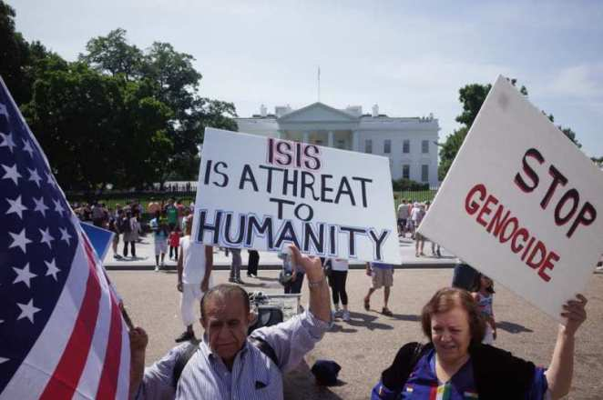 united states efforts against isis group