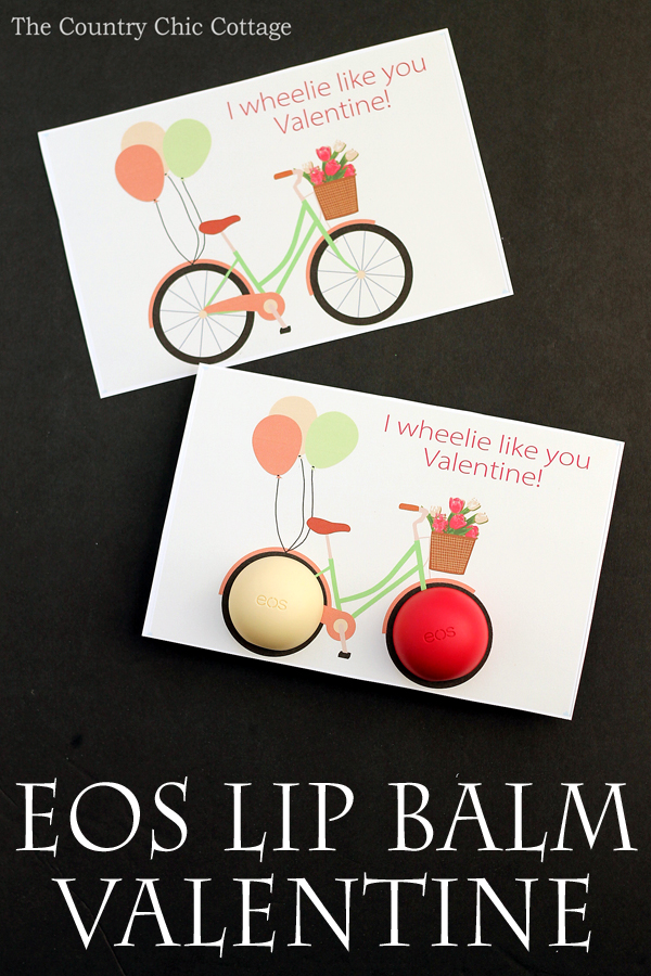 EOS Lip Balm Valentines Day Card The Country Chic Cottage