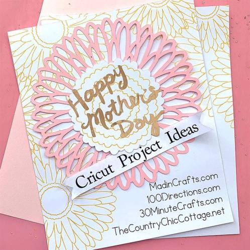 Mother's Day Crafts to Make with Cricut - The Simply Crafted Life