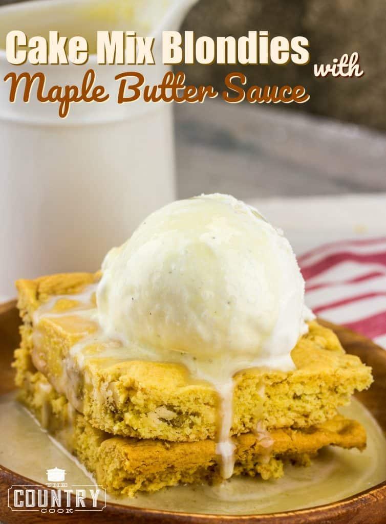 Yellow Cake Scratch Butter